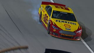 CUP: Joey Logano Down a Cylinder - Chicago 2013