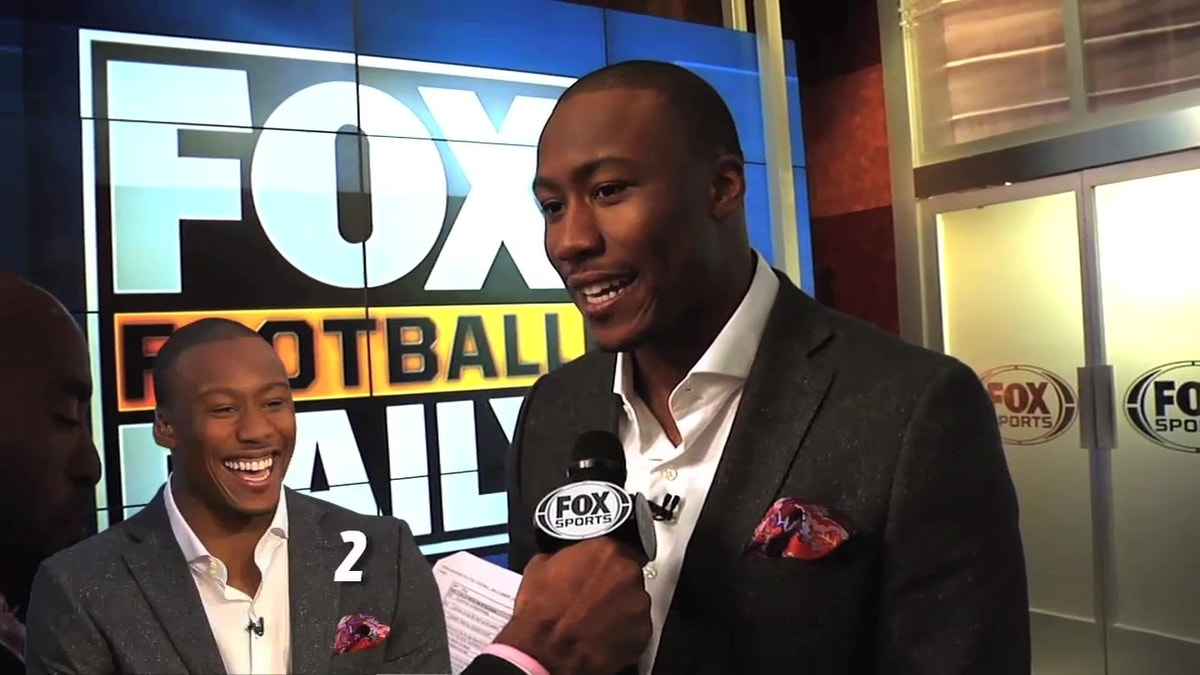 BEHIND THE SCENES: Ronde tests Brandon Marshall