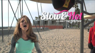 Slow and Hot with Brittney Palmer: Speed Bag