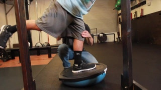 Train Like a Champion: Leg stabilization