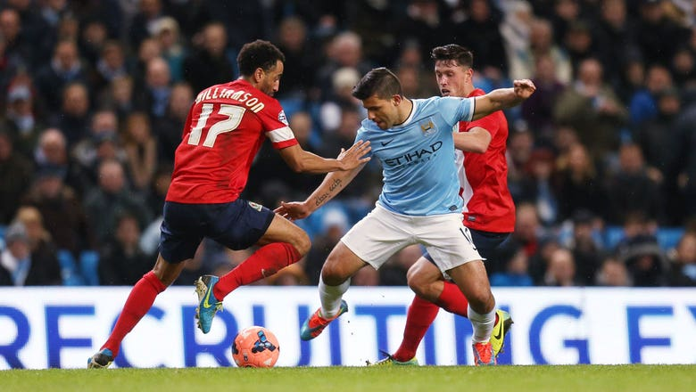 Manchester City v Blackburn Rovers FA Cup Highlights 01/15/14