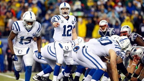 Indianapolis Colts (6-6): Anything less than a perfect game from Andrew Luck