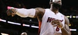 LeBron James record-setting performance