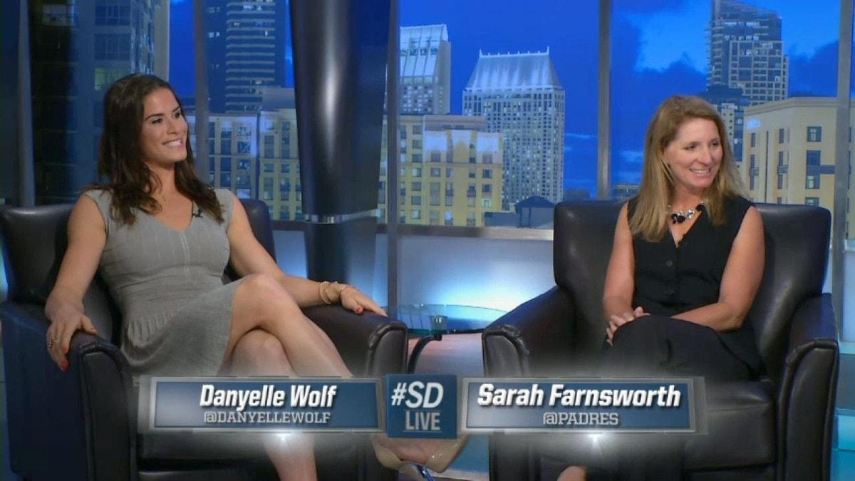 Sdlive Danyelle Wolf And Sarah Farnsworth Panel Fox Sports