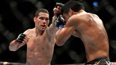 Chris Weidman vs. Gegard Mousasi