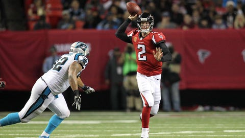 Falcons at Panthers: 1 p.m., Dec. 24 (FOX)