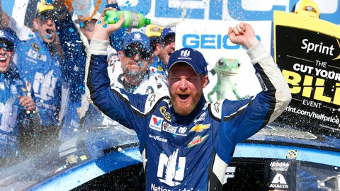 WOODY: Dale Earnhardt Jr. has grown into, and beyond, the family name