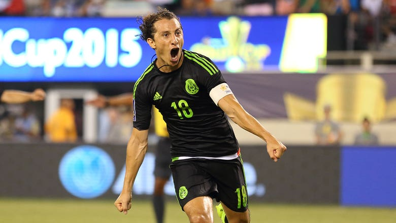 Guardado scores beautiful volley to put Mexico ahead - 2015 CONCACAF Gold Cup Highlights