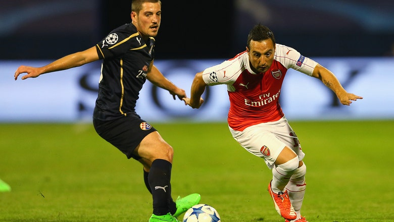 Dinamo Zagreb vs. Arsenal - 2015–16 UEFA Champions League Highlights
