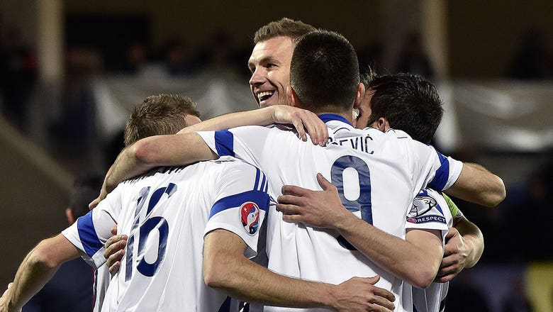Bicakcic gives Bosnia-Herzegovina an early lead against Andorra - Euro 2016 Qualifiers Highlights