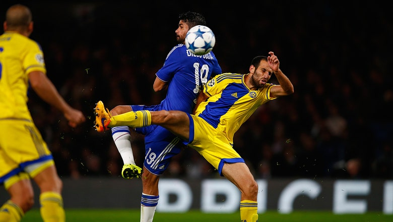 Chelsea vs. Maccabi Tel-Aviv - 2015–16 UEFA Champions League Highlights