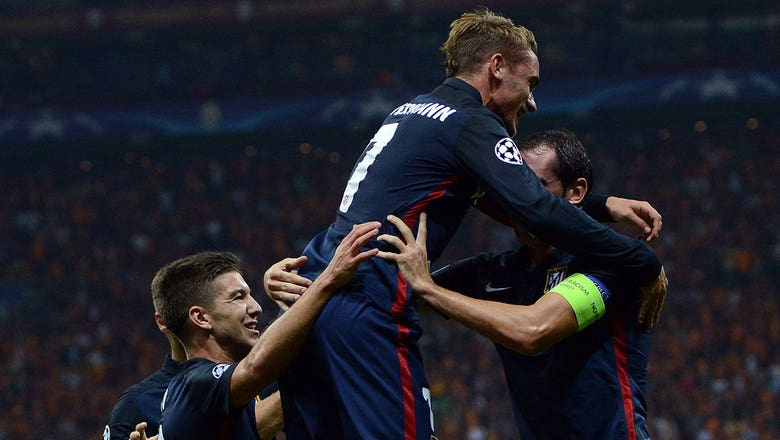 Griezmann goal puts Atletico Madrid up 1-0 - 2015–16 UEFA Champions League Highlights
