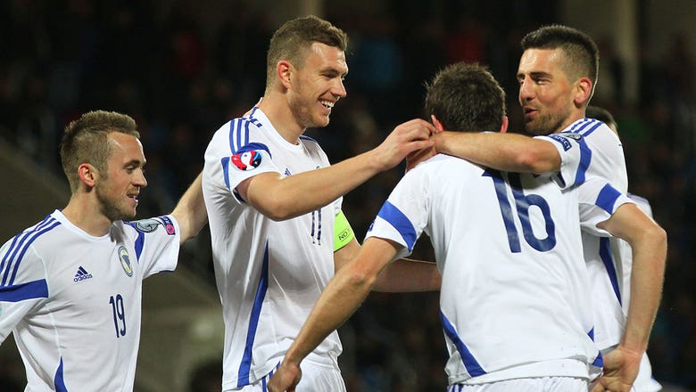 Lulic strike extends Bosnia-Herzegovina lead over Andorra - Euro 2016 Qualifiers Highlights
