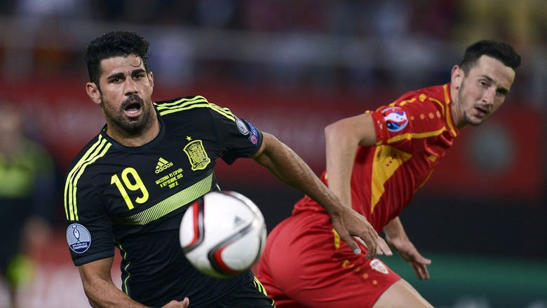 Macedonia FYR vs. Spain - Euro 2016 Qualifiers Highlights