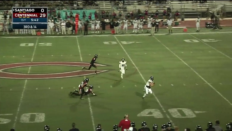 Week 8: Jacob Ricard of Santiago goes 59-yards for the score