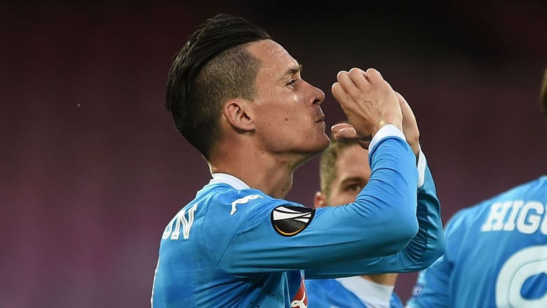 Callejon puts Napoli in front of Midtjylland | 2015–16 UEFA Europa League Highlights