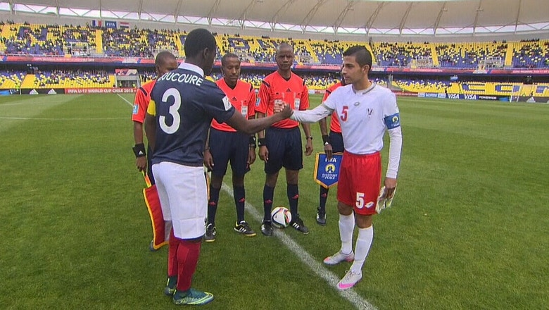 France vs. Syria   FIFA U-17 World Cup Highlights 2015