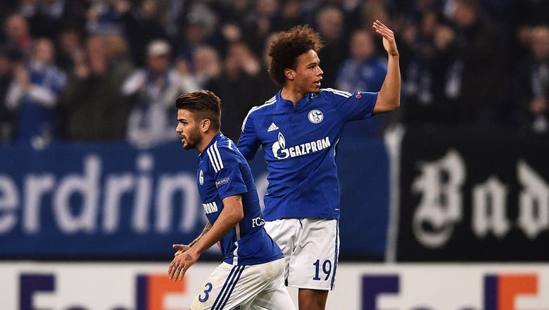 Leroy Sane equalizes 2-2 for Schalke vs. Sparta Prague | 2015–16 UEFA Europa League Highlights