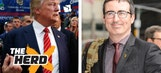 Donald Trump didn't go on John Oliver's show because it's 'boring' – 'The Herd'