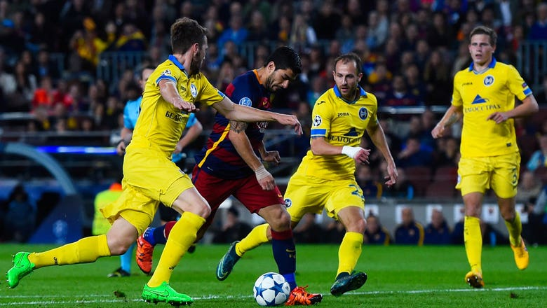 Barcelona vs. BATE | 2015–16 UEFA Champions League Highlights