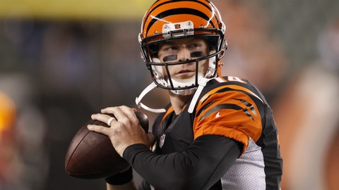 The Bengals are coming off a bye