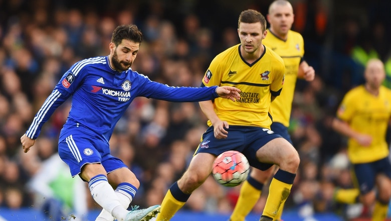 Chelsea vs. Scunthorpe United | 2015-16 FA Cup Highlights