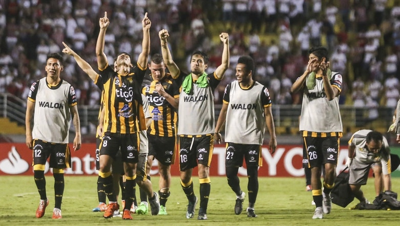 Alonso goal gives The Strongest historic win over Sao Paulo | 2016 Copa Libertadores Highlights
