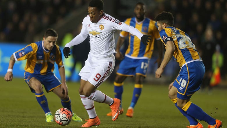Shrewsbury Town vs. Manchester United | 2015-16 FA Cup Highlights