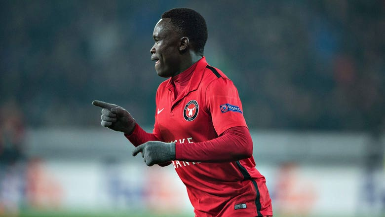 Sisto scores an equalizer for Midtjylland against United | 2015–16 UEFA Europa League Highlights