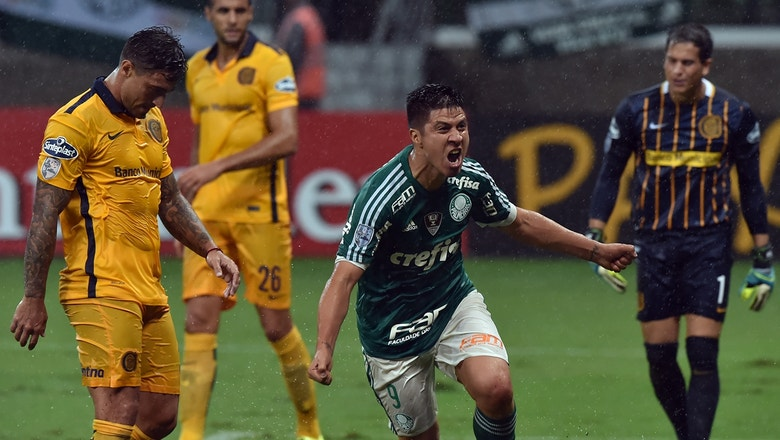 Palmeiras vs. Rosario Central | 2016 Copa Libertadores Highlights