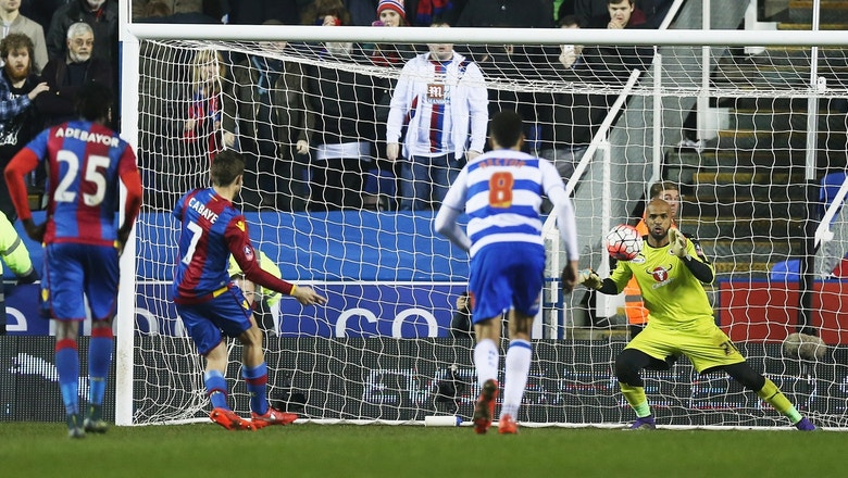 Reading undone by 84th-minute PK against Crystal Palace | 2015-16 FA Cup Highlights