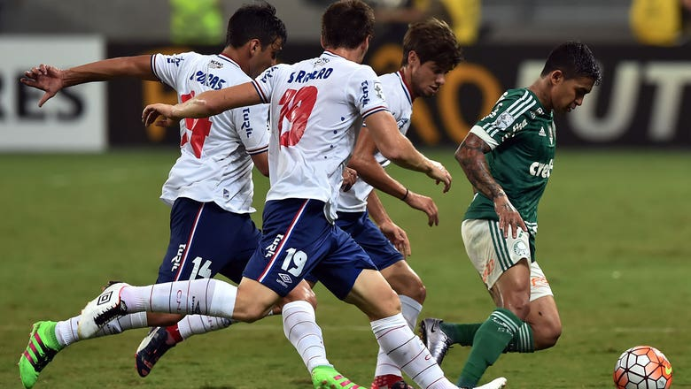 Palmeiras vs. Nacional | 2016 Copa Libertadores Highlights