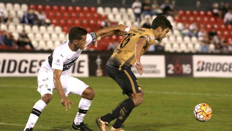 Olimpia vs. Pumas UNAM   2016 Copa Libertadores Highlights