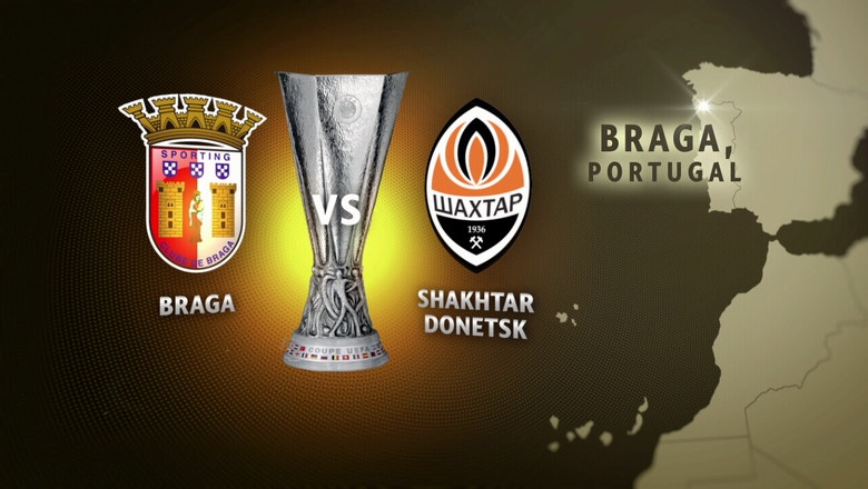 Sporting Braga vs. Shakhtar Donetsk | 2015–16 UEFA Europa League Highlights