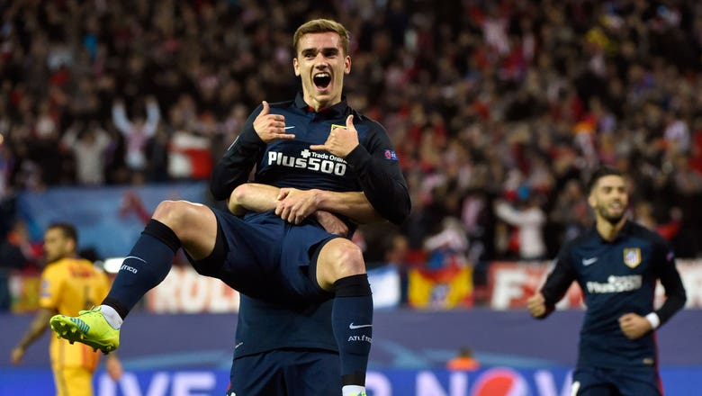 Griezmann puts Atletico in front against Barcelona | 2015–16 UEFA Champions League Highlights