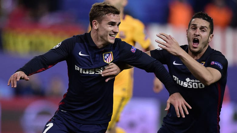 Griezmann doubles Atletico's lead from the spot | 2015–16 UEFA Champions League Highlights