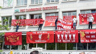Keith Costigan in Basel for the Europa League final