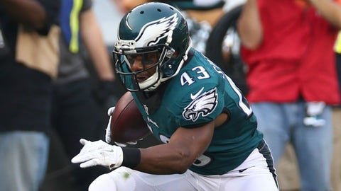 RB: Darren Sproles, Philadelphia Eagles: 5-6, 190 pounds