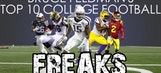Top 10 College Football FREAKS