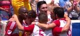 Kljestan makes it 3-0 against NYCFC   2016 MLS Highlights
