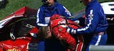 Dale Earnhardt Jr. Slams Hard into Outside Wall – Fontana 2002