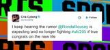 Ronda Rousey is not pregnant – 'TMZ Sports'