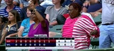 Hat trick in Milwaukee: Female fan catches ball, shows off moves