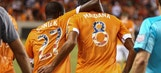 Houston beats Philly with last-minute free kick goal