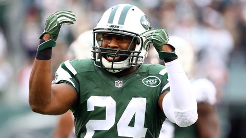 Darrelle Revis, CB, Jets (hamstring): Questionable