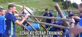FC Schalke 04 takes team-building exercise too seriously