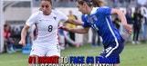 Alex Morgan and Carli Lloyd talk about upcoming match against France