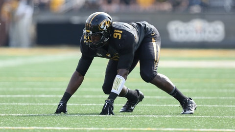 36. Chicago Bears: Charles Harris, DE, Missouri