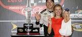 NASCAR community congratulates newlyweds Brad Keselowski and Paige White