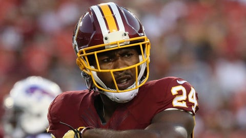 Josh Norman, CB, Redskins (concussion): Active